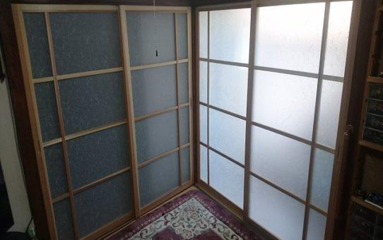 秋田杉建具